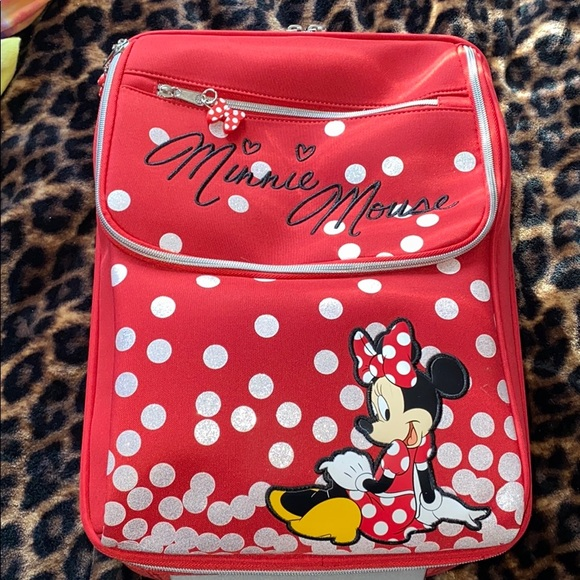 """Disney Other - Children's Disney Suitcase. 17"""" long, used once"""